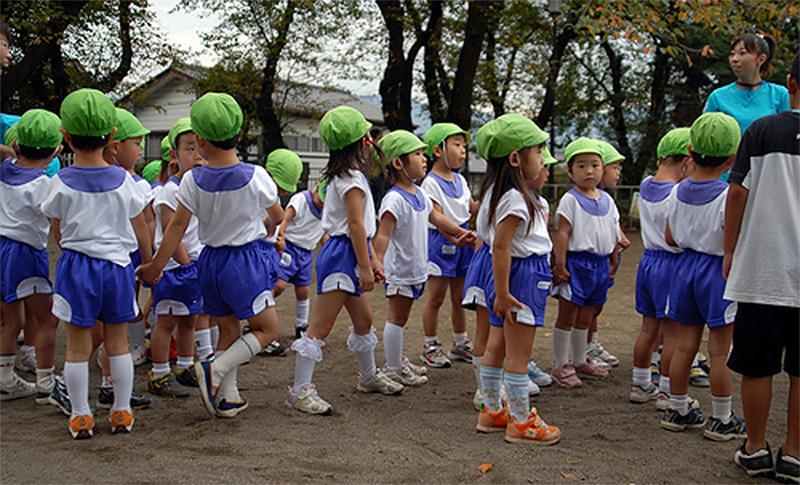 Những khác biệt điển hình trong giáo dục trẻ em ở Nhật Bản